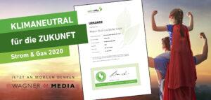 Klimaneutral und umweltfreundlich drucken mit Wagnermedia